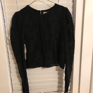 Wilfred Noela crop blouse